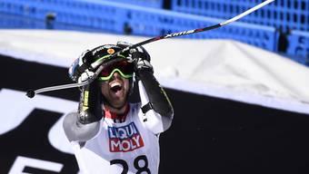 Dustin Cook freute sich im letzten Februar über WM-Silber