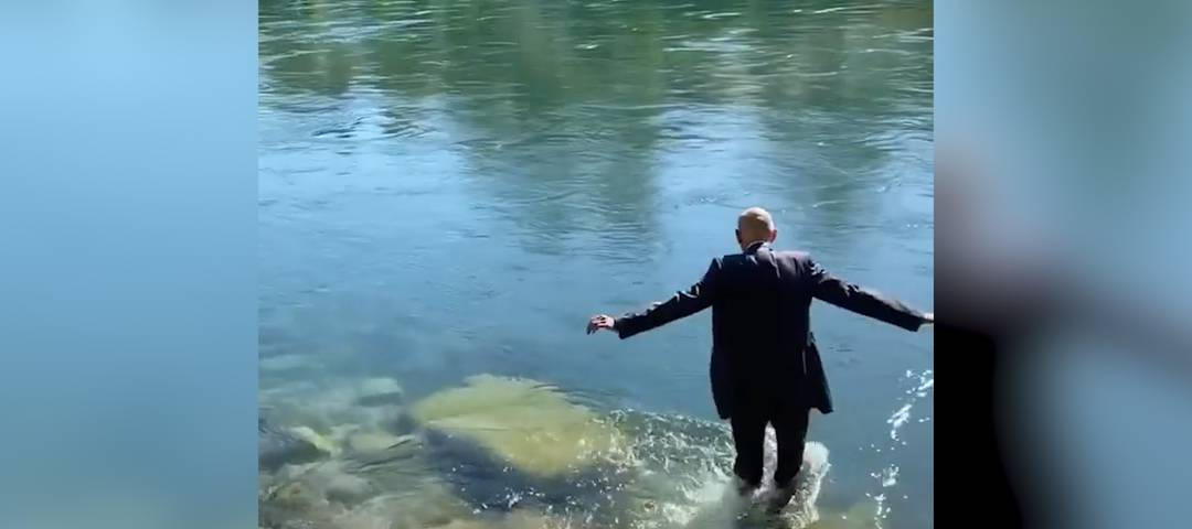 Daniel Koch geht mit einem Sprung ins kalte Wasser in den Ruhestand.