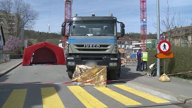 LKW überrollt Senior: Todesbaustelle in Brugg wird sicherer