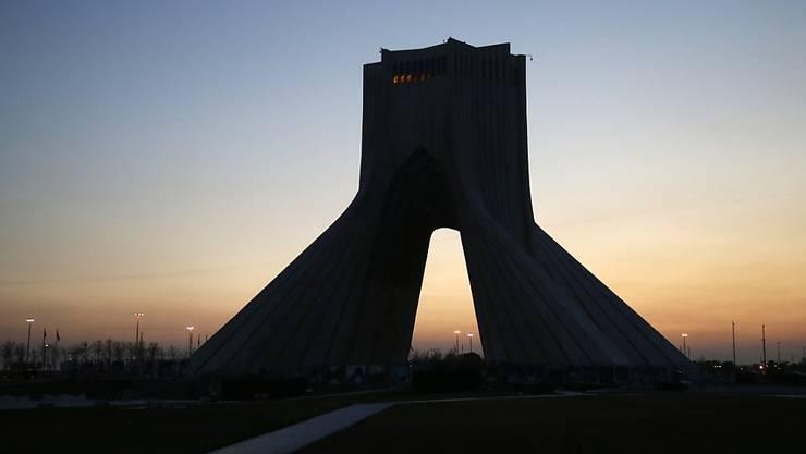Für Iran hat der regionale Markt bei der Erdgasförderung Priorität. (Symbolbild, Azadi Monument in Teheran).