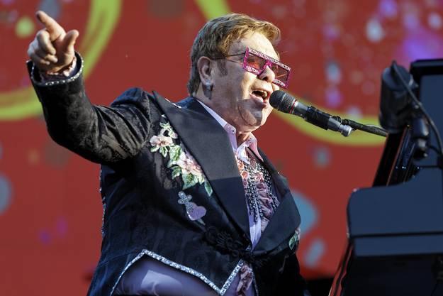 Elton John in Montreux