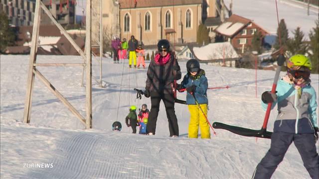 Bennauer Skilift läuft wie geschmiert