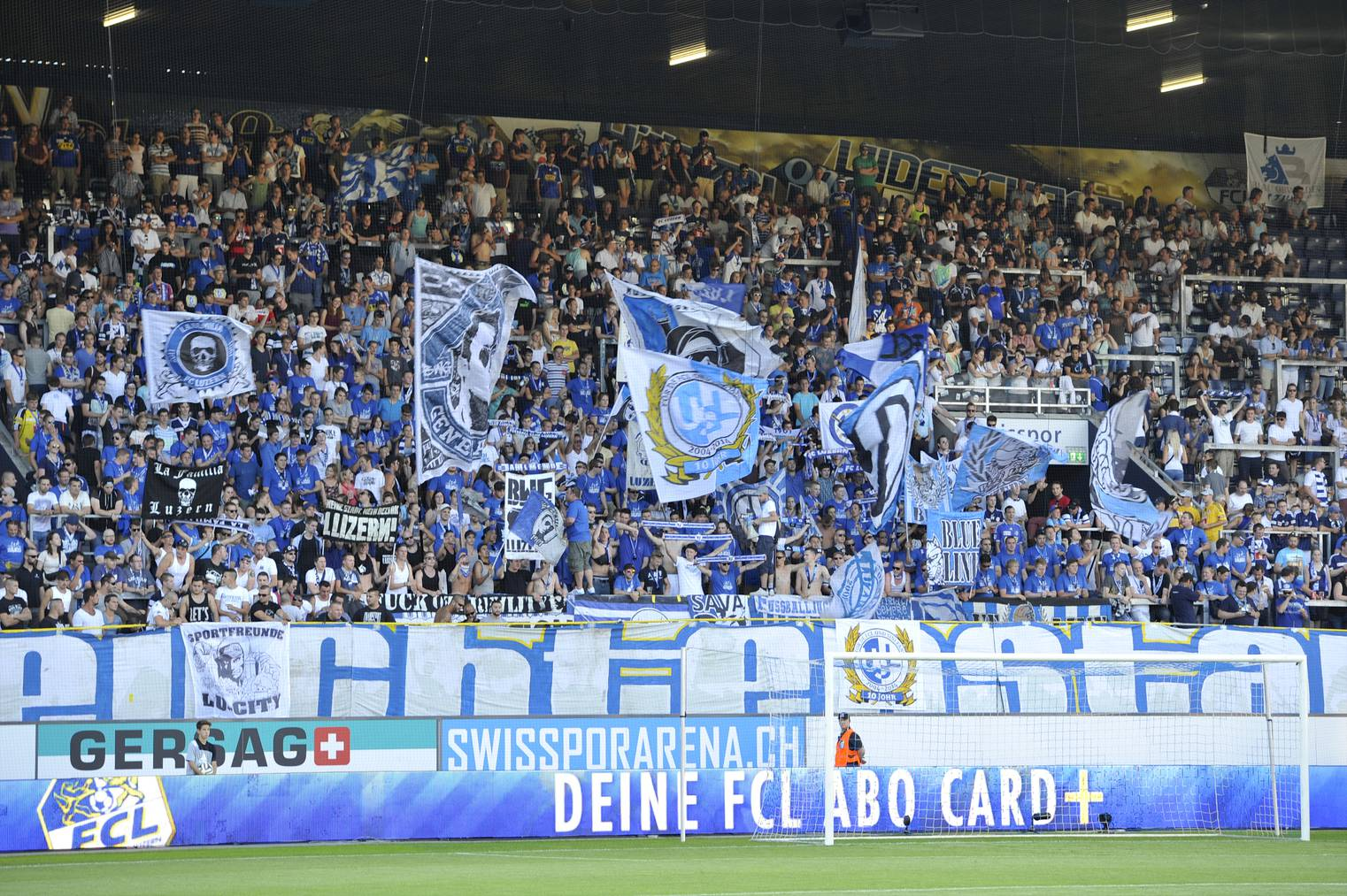 Fans FC Luzern.