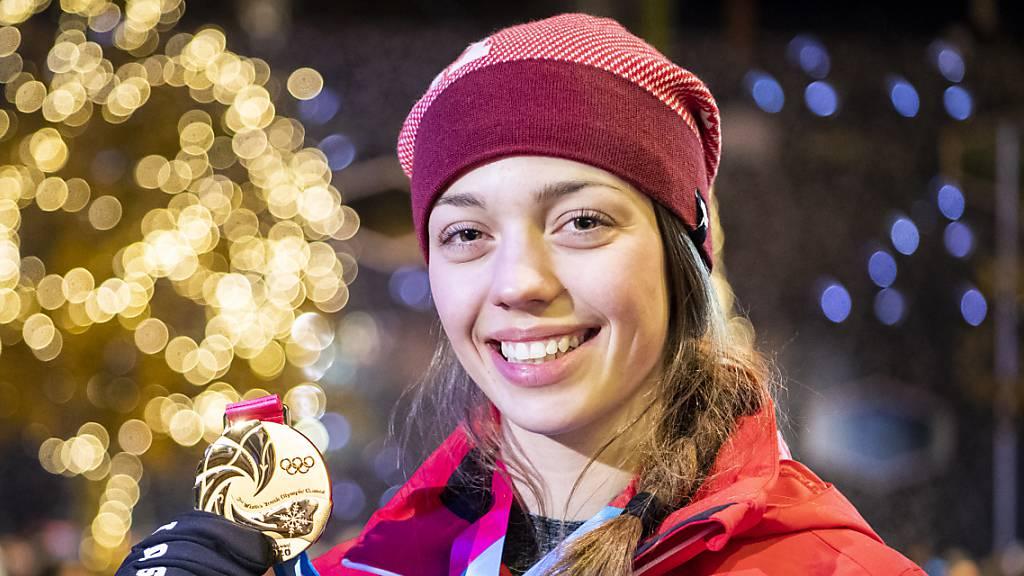Klopfenstein schon doppelte Jugend-Olympiasiegerin