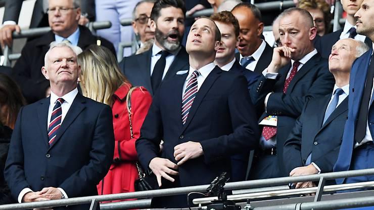 FA-Chairman Greg Clarke (ganz links) rechnet damit, dass es in England Geisterspiele bis 2021 geben könnte