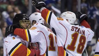Die erste NHL-Playoffnacht in Bildern
