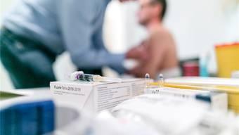 Im Herbst haben sich in den Rheinfelder Kapuziner-Apotheken rund 130 Personen impfen lassen. Sandra Ardizzone/Archiv