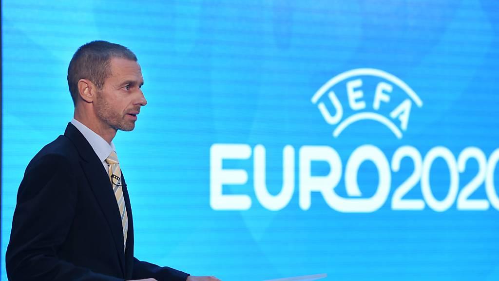 UEFA-Präsident Aleksander Ceferin kann sich die EM 2021 auch in weniger Städten als geplant vorstellen