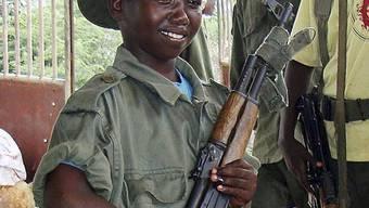 Vier Staaten rekrutieren noch Kindersoldaten (Archiv)