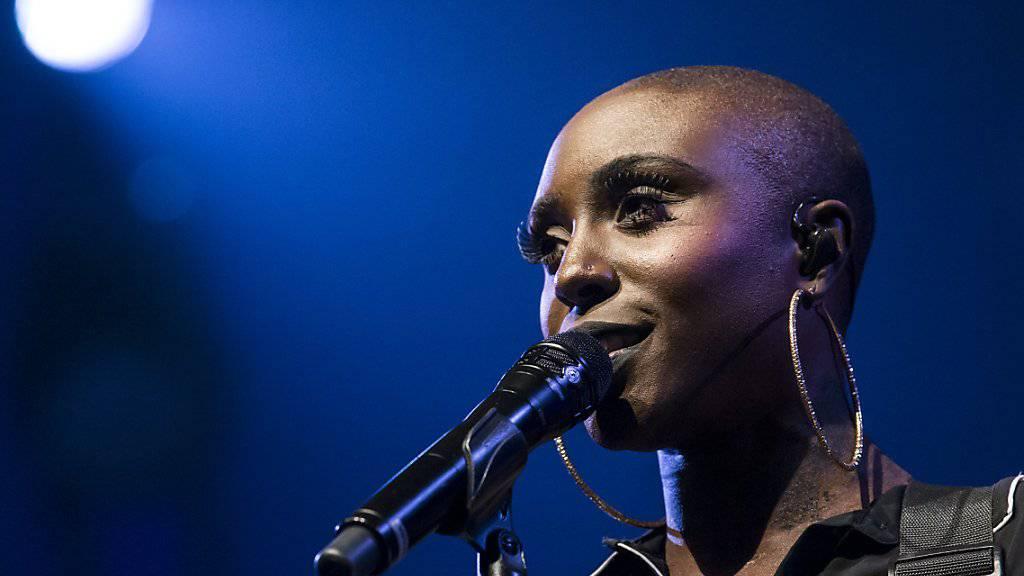 Sängerin Laura Mvula beschliesst das diesjährige Luzerner Blue Balls Festival.