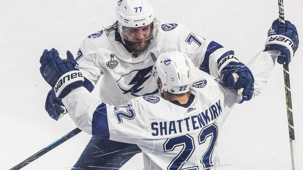 Tampa Bay fehlt noch ein Sieg zum NHL-Titel