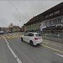 Der Fussgängerstreifen beim Rössli in Wohlen. Der Fahrer kam vom Zentrum und prallte auf die Soldatin, die die Strasse gerade überquerte.