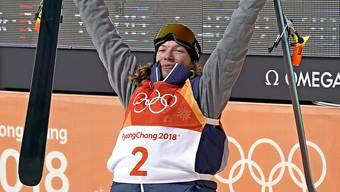 David Wise blieb cool und sicherte sich mit seinem letzten Lauf die Goldmedaille