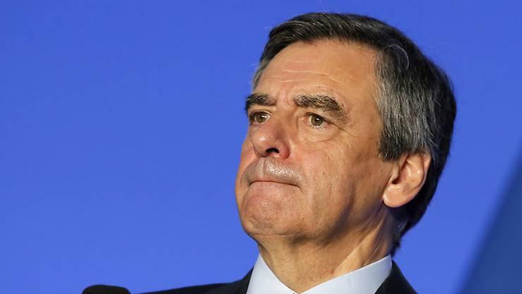 Im Visier der Justiz: Der Präsidentschaftskandidat der französischen Konservativen, François Fillon.