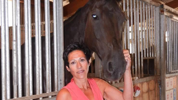 Silvia Spychers Hobby sind Pferde.
