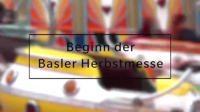 Die 548. Basler Herbstmesse ist eröffnet