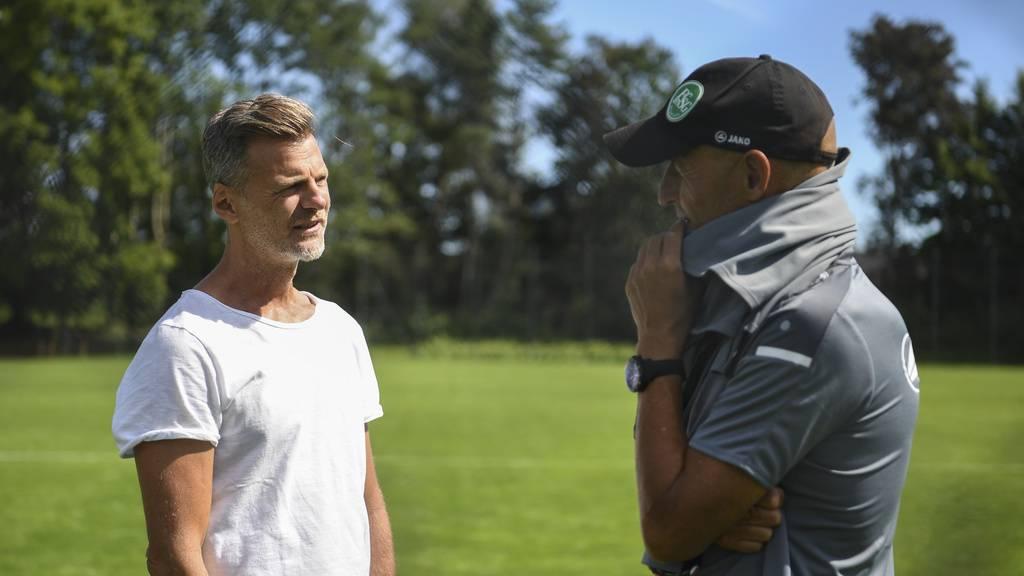 Ligaerhalt und Cupfinal: Beim FC St.Gallen gibt es viel Gesprächsstoff