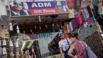Sharm el-Sheikh: Sympathie für Putin am Souvenirshop. Ahmed Abdel-Latif/Keystone