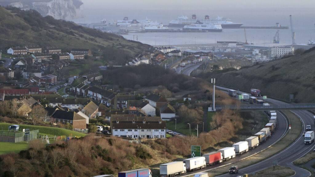 Lange Staus in Dover gehören jetzt zum gewohnten Bild. (Archivbild)