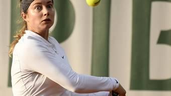 Stefanie Vögele kassierte in Linz eine deutliche Achtelfinal-Niederlage