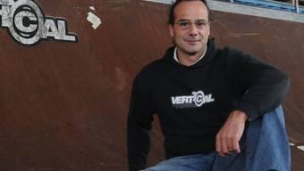Pionier: Der 43-jährige Paul Heuberger hat sich der Mission verschrieben, Skateboardelemente zu bauen, die den Ansprüchen der besten Fahrer genügen.