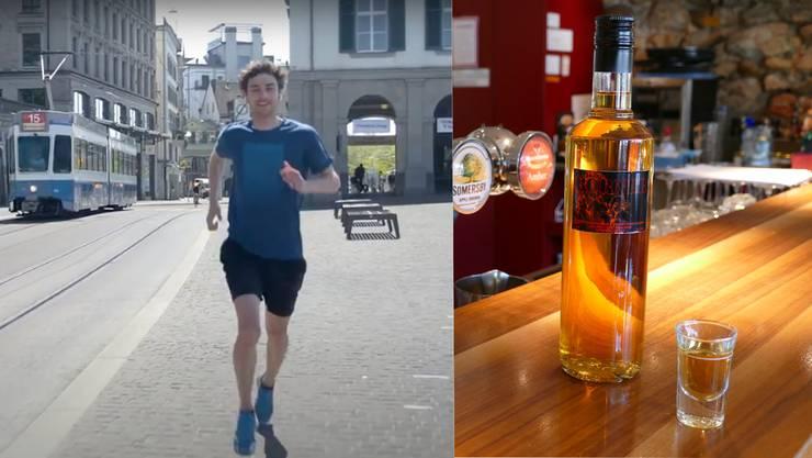 Das Projekt viRace aus Olten und die Spirituosenproduktion aus Solothurn waren im Rennen.