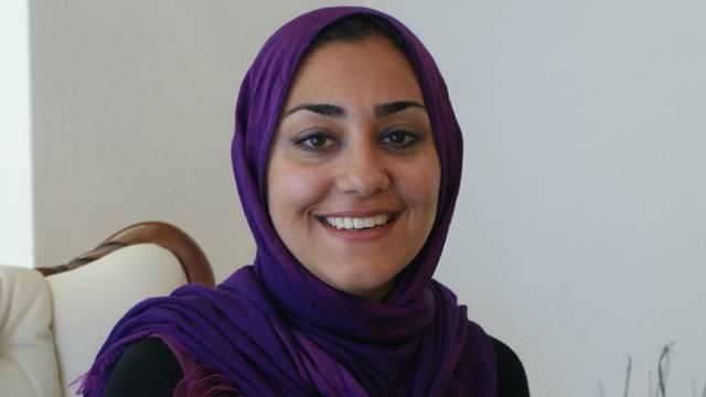Frau mit viel Optmismus: die Schlieremerin Iman Farasatpour