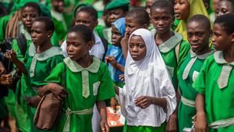 Mädchen in einer muslimischen Schule in Nigeria (Symbolbild)