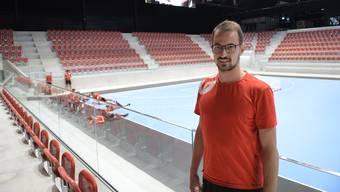 Simon Schelling freut sich auf seine erste Playoffteilnahme in der Nationalliga A mit Pfadi Winterthur.