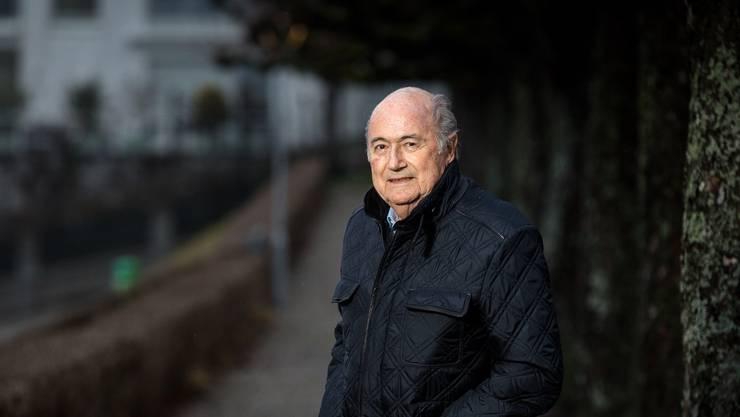 «Ich beschäftige mich mehr mit dem Leben als mit dem Tod», sagt Sepp Blatter.