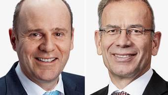 Die Schaffhauser SVP schickt Hannes Germann und Nationalrat Thomas Hurter ins Rennen.