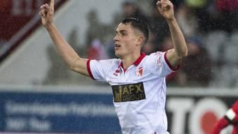 Kehrt leihweise in die Super League zurück: Vincent Sierro (hier im Dress von Sion)