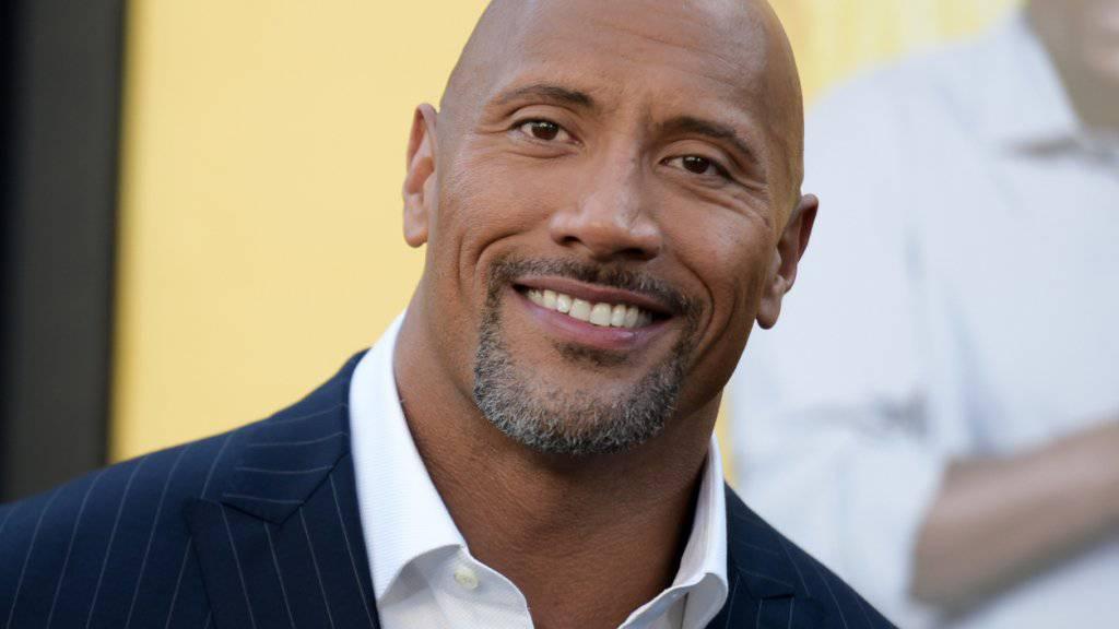 Vom Wrestler zu Hollywoods bestbezahltem Schauspieler: Dwayne Johnson verdiente im vergangenen Jahr nach einer Schätzung von «Forbes» 64,5 Millionen Dollar. (Archivbild)