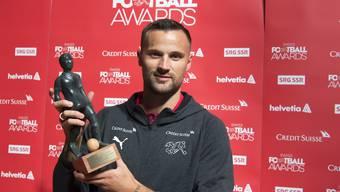 Haris Seferovic, Schweizer Spieler des Jahres.