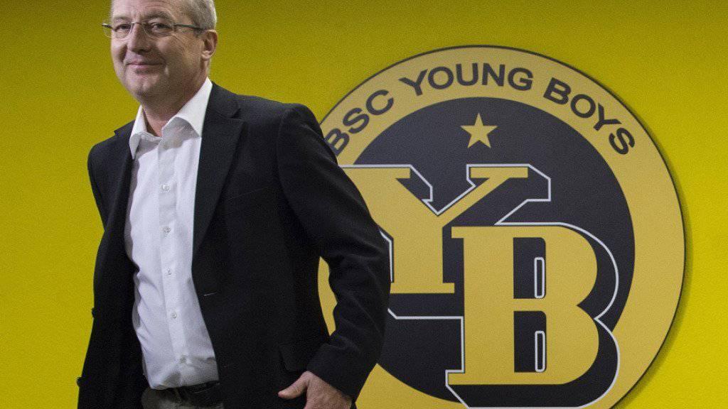 Auf ein Neues: Fredy Bickel bleibt Sportchef bei den Young Boys