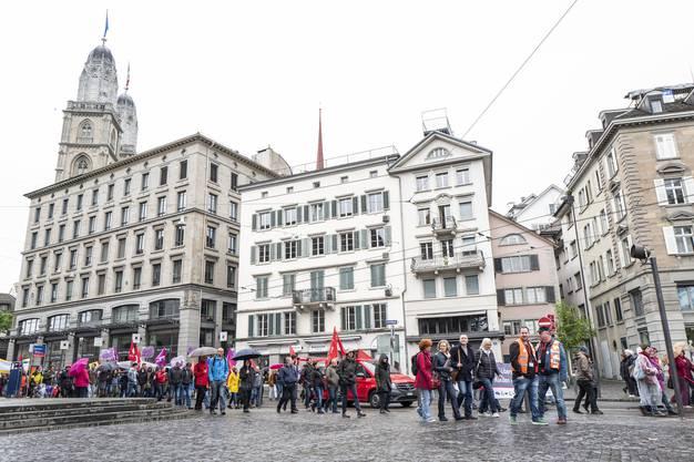 1. Mai-Umzug in Zürich