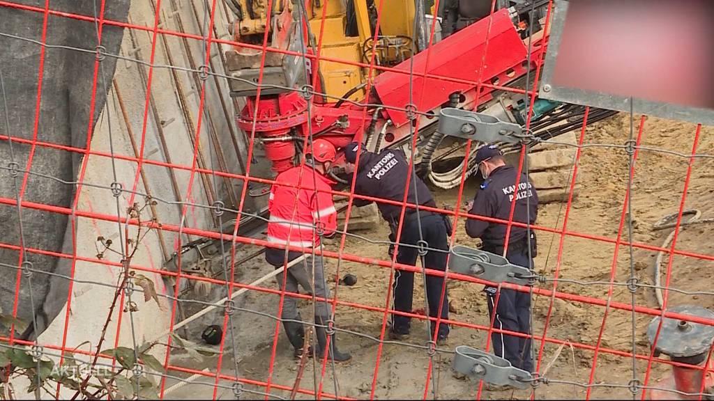 Schwerer Arbeitsunfall auf Baustelle in Küttigen