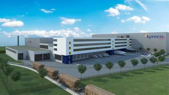 Neues Betriebs- und Verwaltungsgebäude Lyreco