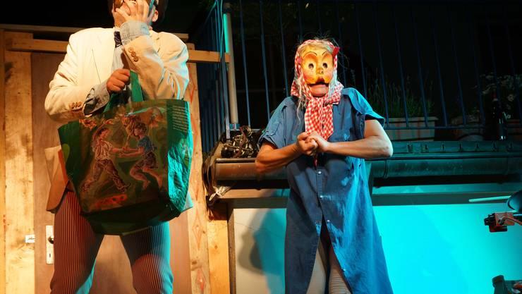 Das Maskentheater Paella Komplott ist eine Hommage an die italienische Commedia dell'arte (ub)5