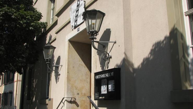 Eingang zum Ortsmuseum Binningen