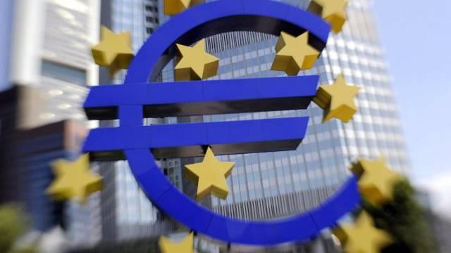 Die Europäische Zentralbank in Frankfurt am Main (Archiv)
