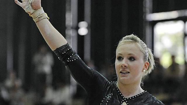 Ariella Kaeslin an einem Wettkampf (Archiv)