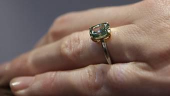 Ein Diamantring (Symbolbild)