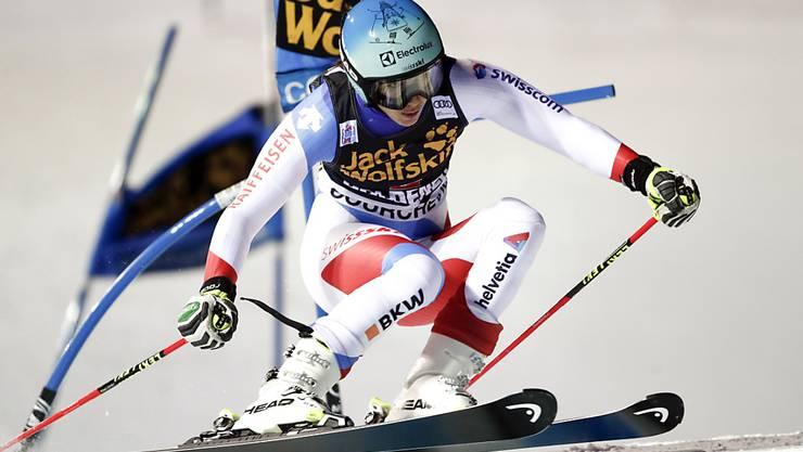 Regelmässiger Weltcuport: Im Dezember fuhren die Skistars um Wendy Holdener in Courchevel einen Parallel-Slalom
