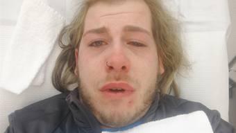 Aufgrund seiner Homosexualität landete Y. M. mit Verletzungen im Spital.