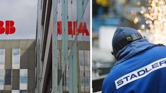 Die ABB erhält einen 60-Mllionen-Auftrag von Stadler Rail.