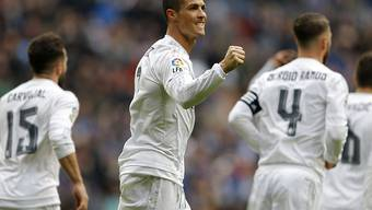 Cristiano Ronaldo jubelte bei Real Madrids 7:1 gegen Celta Vigo viermal