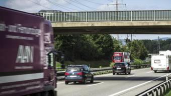Gegen 8 Uhr meldete der TCS Verkehr einen Hund auf der Autobahn A1 bei Aarau.
