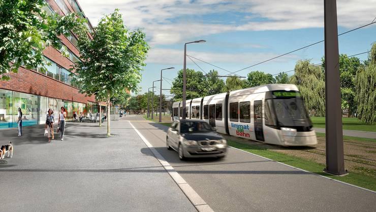 Erste Auswirkungen der Limmattalbahn: Buslinie 31 fährt ab 2019 nur bis Micafil.