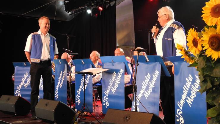 Die Limmattaler Musikanten sorgten am dritten Tag des Stadtfestes Dietikon für musikalische und gesellige Momente.